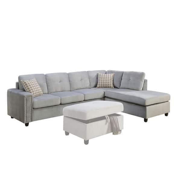 Acme Furniture Belville Sectional Sofa
