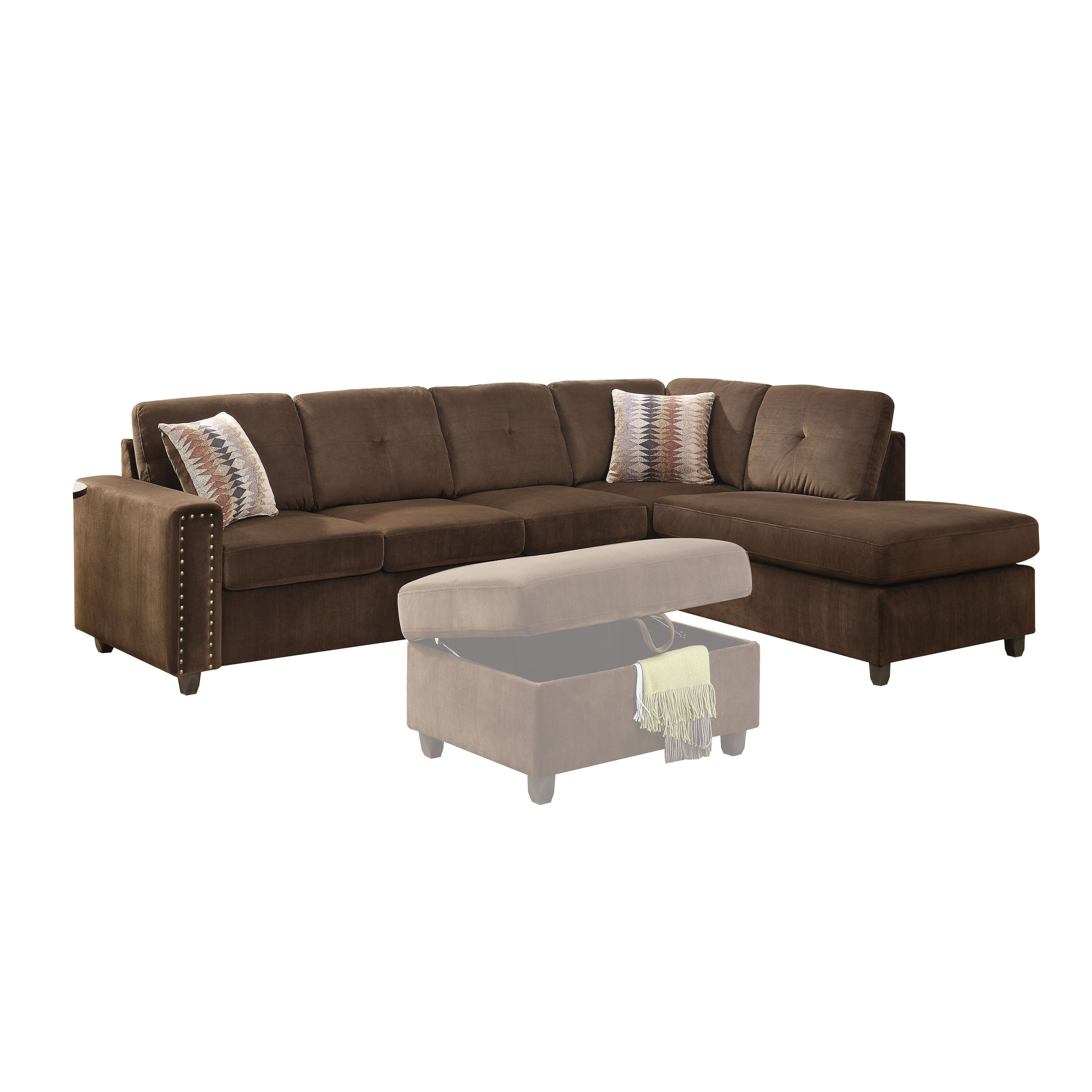 Belleville Sectional Sofa Review Home Co