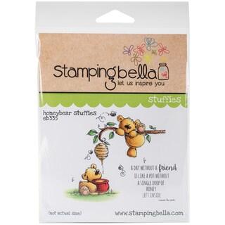 Stamping Bella Cling Stamp 6.5X4.5-Honeybear Stuffies