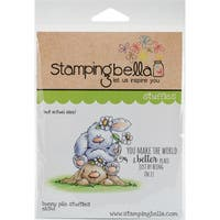 "Stamping Bella Cling Stamp 6.5""X4.5""-Bunny Pile Stuffies"