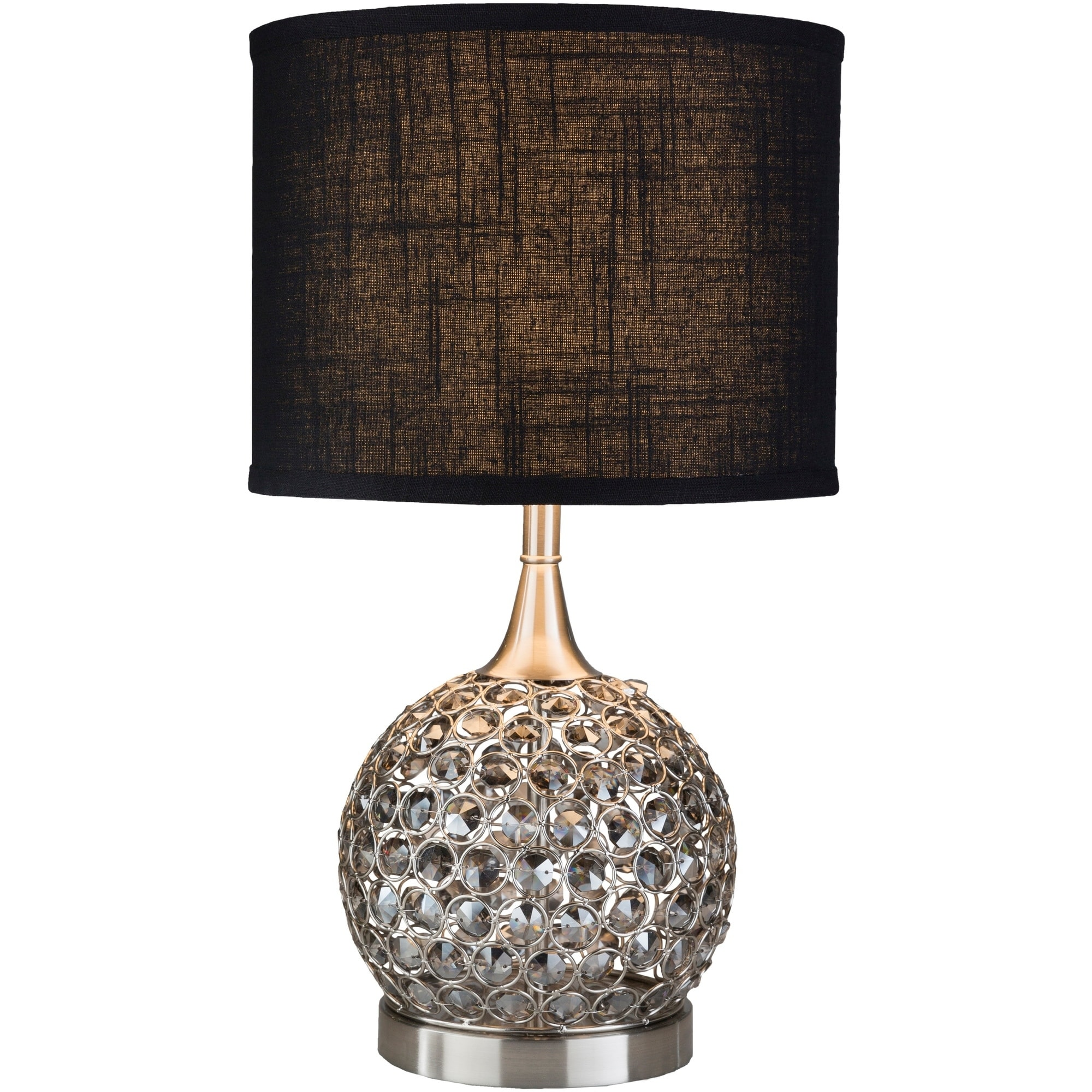 Kanli Table Lamp With Silver Base