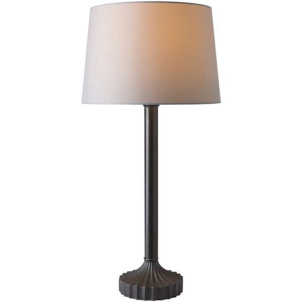 Yaho Table Lamp with Grey Base and Grey Shade