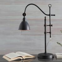Remni Table Lamp with Black Base and Black Shade