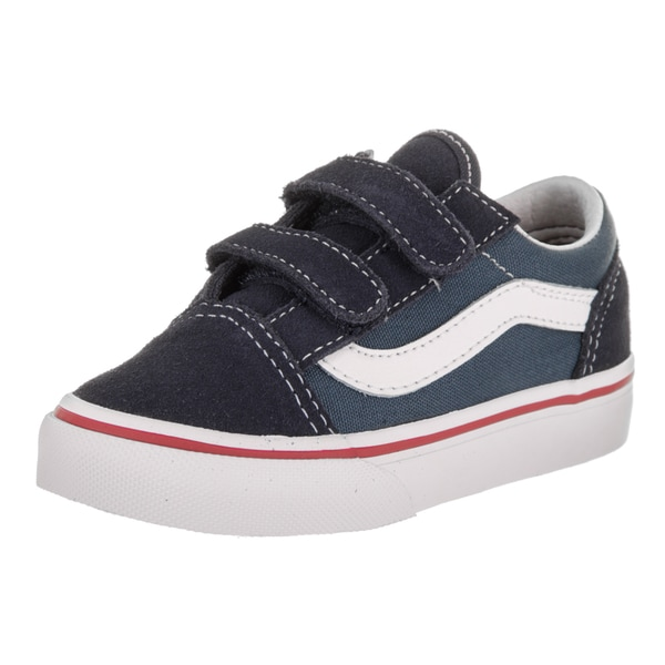 Shop Vans Toddler s Old Skool V 2Tone Skate Shoe - Free Shipping On ... 0ba2ff6975