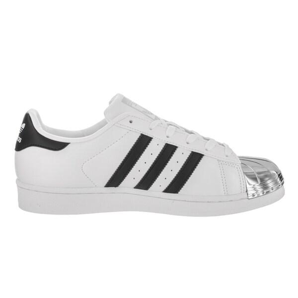 Shop Adidas Women's Superstar Metal Toe Originals White