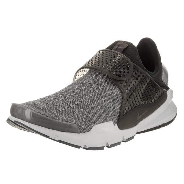 big sale e81f8 62c13 Nike Men  x27 s Sock Dart SE Premium Grey Textile Running Shoe