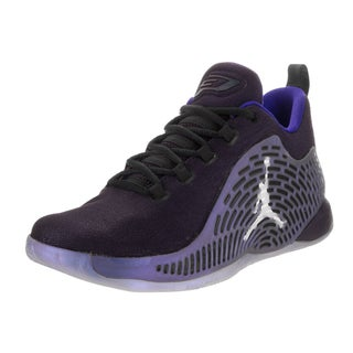 Nike Boys' Jordan CP3.X Bg Purple Textile Basketball Shoe