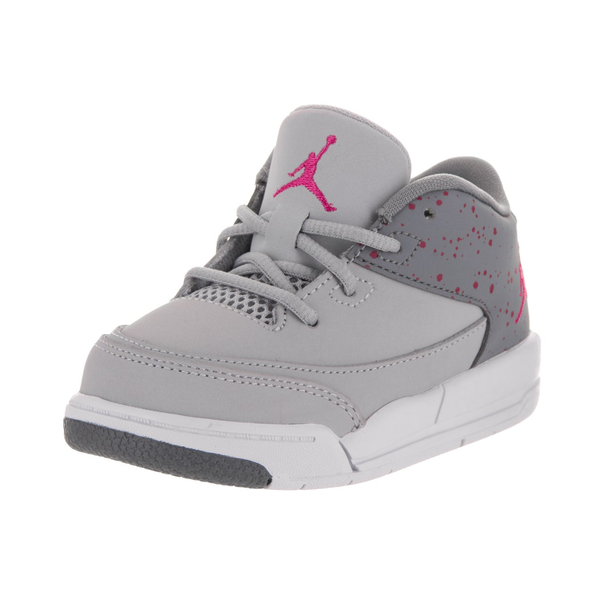 Nike Jordan Toddlers Jordan Flight Origin 3 Gt Grey Nubuc...