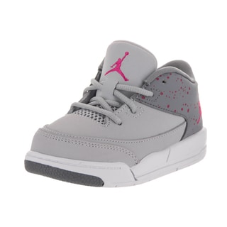 Nike Jordan Toddlers Jordan Flight Origin 3 Gt Grey Nubuck Basketball Shoes