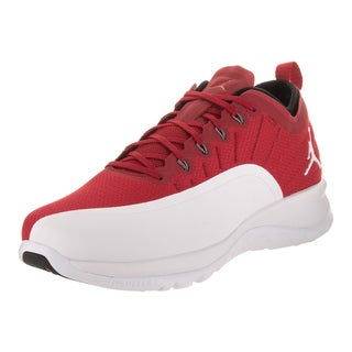 Nike Jordan Men's Jordan Trainer Prime Red Synthetic-leather Training Shoes