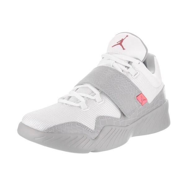 60e71213763 Shop Nike Jordan Men's Jordan J23 White Leather Basketball Shoes ...