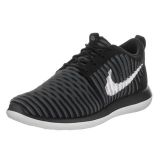 Nike Kids' Roshe Two Flyknit (GS) Black Running Shoes