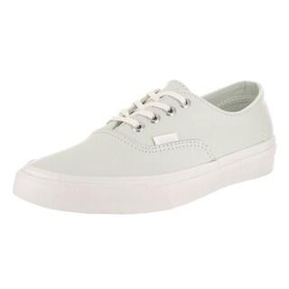 Vans Unisex Authentic Decon Blue Leather Skate Shoes (Option: 4)
