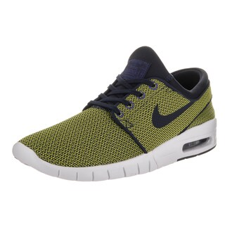 Nike Men's Stefan Janoski Max Yellow Textile Skate Shoes (More options available)
