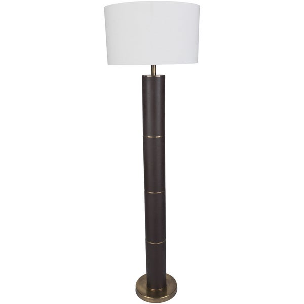 Derlac Table Lamp with Black Base and White Shade