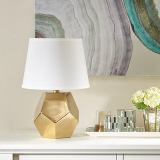 Madison Park Signature Capri Gold Table Lamp