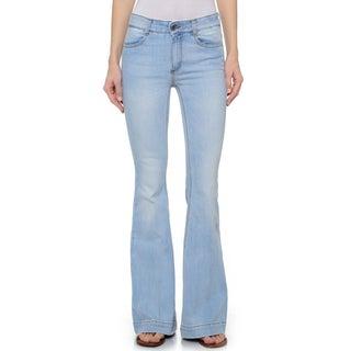 Stella McCartney Women's Faded '70s Cotton, Elastane Flared Jeans