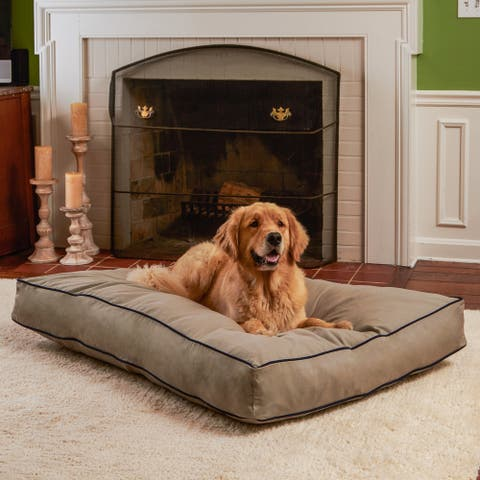 Happy Hounds Casey Greystone Rectangle Indoor/Outdoor Dog Bed