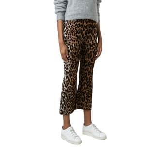 Stella McCartney Women's Flared Leopard Pants|https://ak1.ostkcdn.com/images/products/14443139/P21007424.jpg?impolicy=medium