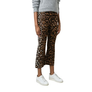 Stella McCartney Women's Flared Leopard Pants