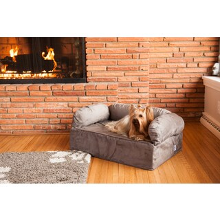 Snoozer Luxury Solid Memory Foam Pet Sofa (2 options available)