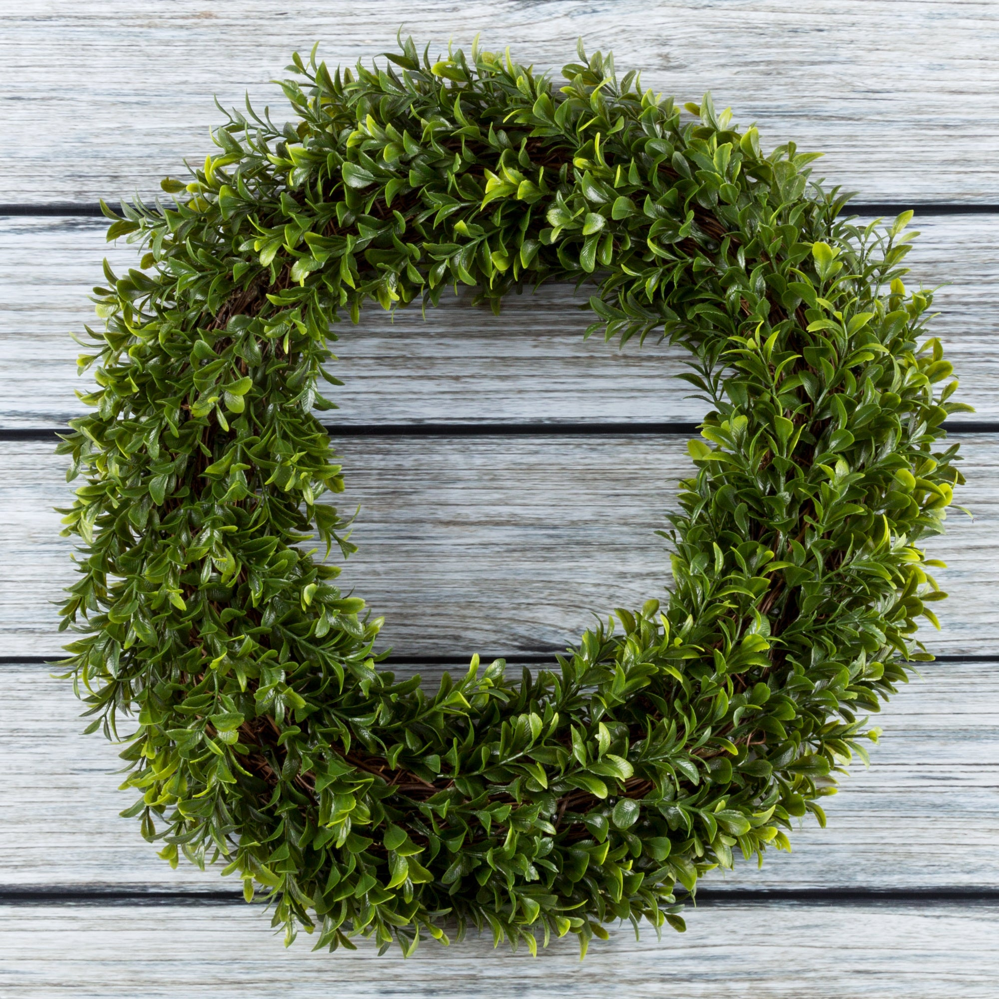 Artificial Hedyotis 15 Inch Round Wreath By Pure Garden Overstock 14443195