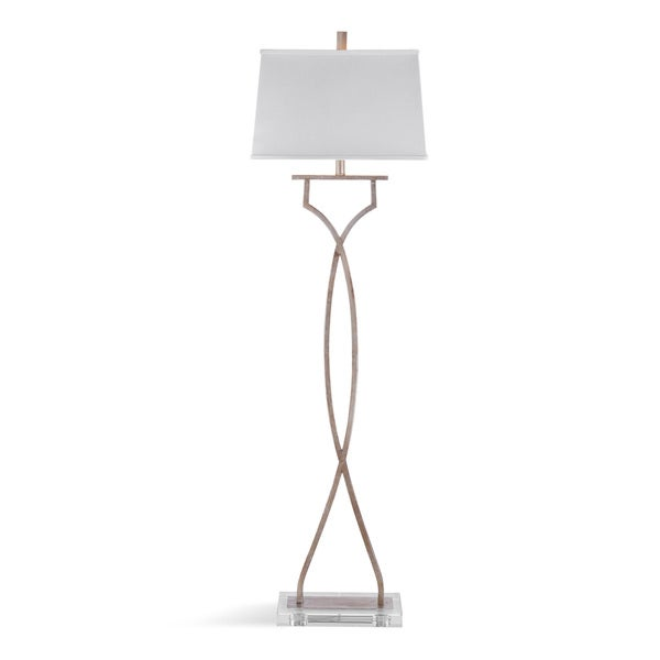 Fallston Silver Metal 62-inch Floor Lamp