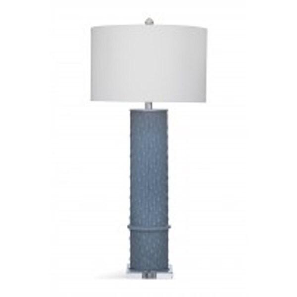 Bassett Mirror Company Aria Grey Metal 35-inch Table Lamp
