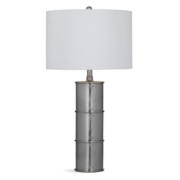 Bassett Mirror Company Berke Grey Resin 29-inch Table Lamp