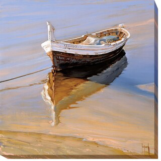 Barcas Descansando by Jaume LaPorta Gallery-Wrapped Canvas Giclee Art