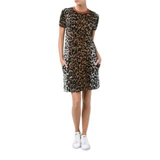Stella McCartney Women's Cheetah Print Dress|https://ak1.ostkcdn.com/images/products/14443271/P21007518.jpg?impolicy=medium