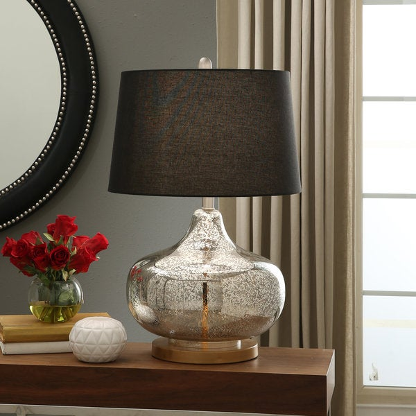Abbyson Tatiana Mercury Gold Table Lamp