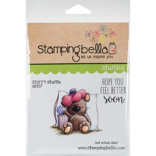 "Stamping Bella Cling Stamp 6.5""X4.5""-Stuffy Stuffie"