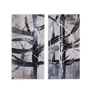 'In Motion' 2-panel Gallery Wrapped Canvas Art