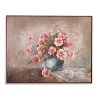 'Pink Orchids' Gallery Wrapped Canvas Art