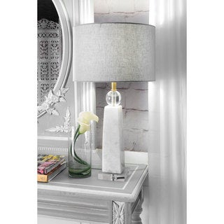 """Watch Hill 23"""" Polished Marble Table Lamp"""