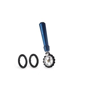 Atlas Blue Stainless Steel Pasta Wheel