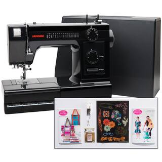 Janome Industrial-Grade Aluminum-Body HD1000 Black Edition Sewing Machine with 14 Stitches, Heavy Duty & Fashion Accessories|https://ak1.ostkcdn.com/images/products/14443434/P21007664.jpg?impolicy=medium