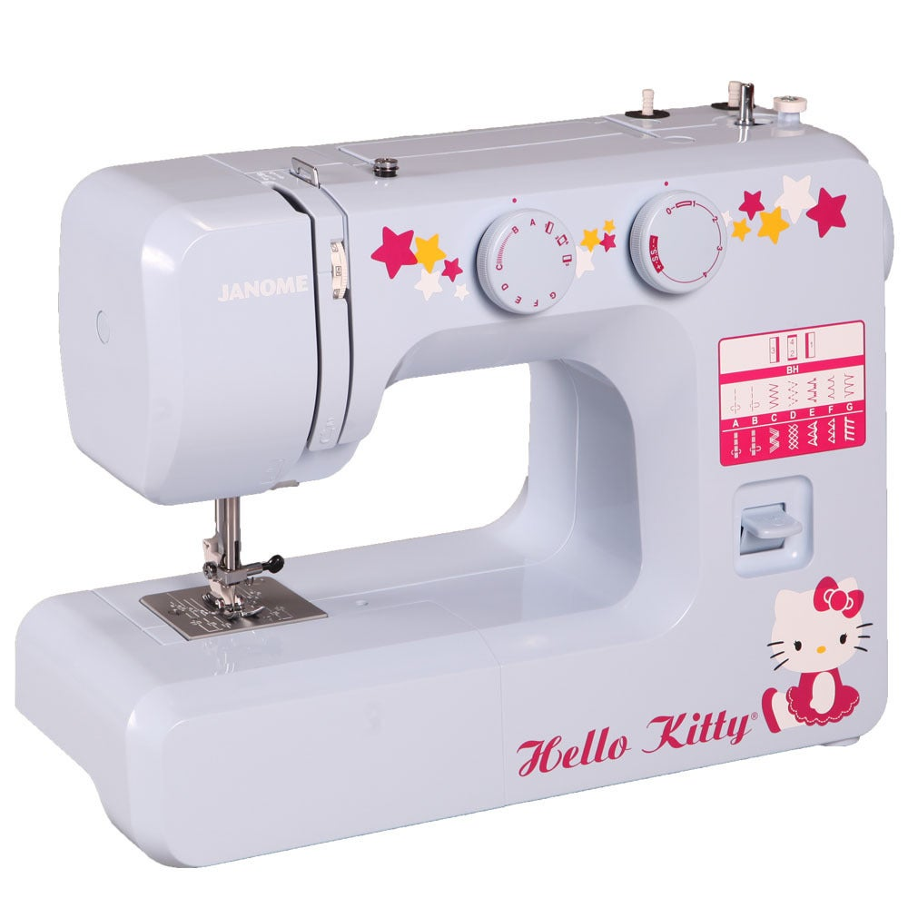 Janome 15312 Hello Kitty Easy-to-Use Sewing Machine with ...