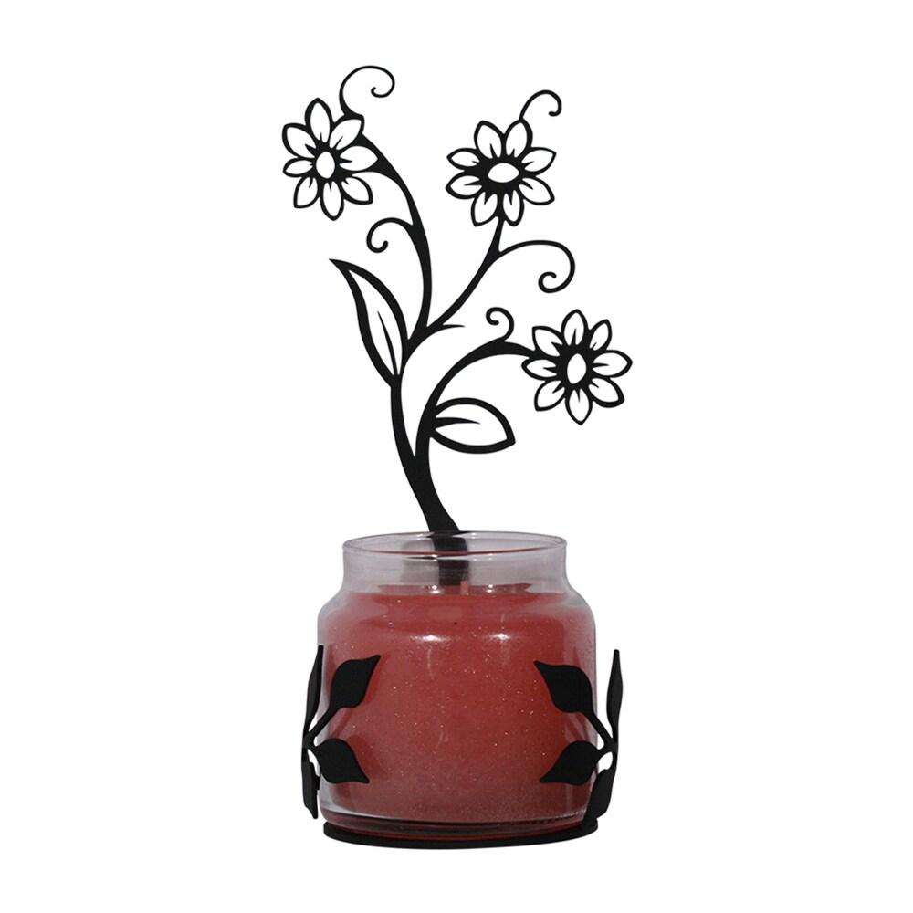Shasta Daisy Large Right-facing Jar Sconce (C-LJS-172-R-V...