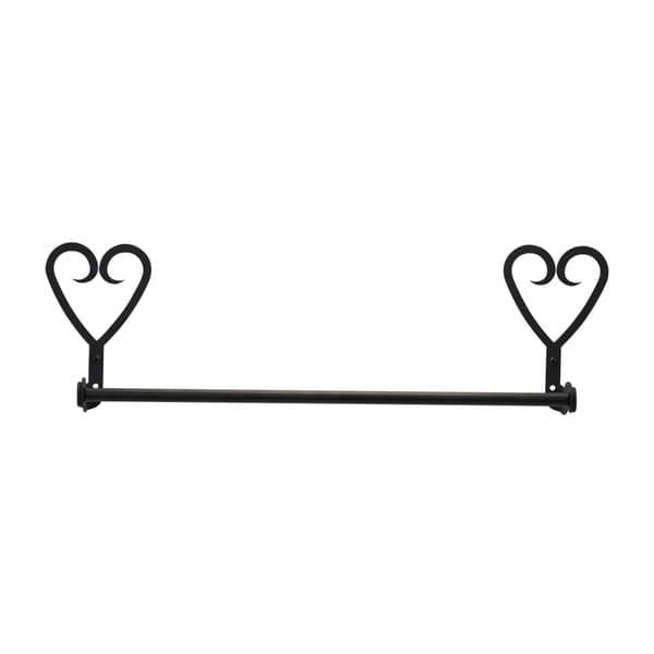 Iron Heart Small Towel Bar