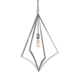 Feiss Nico 1 Light Chrome Pendant