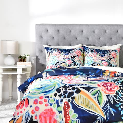 Stephanie Corfee Night Bloomers Duvet Cover