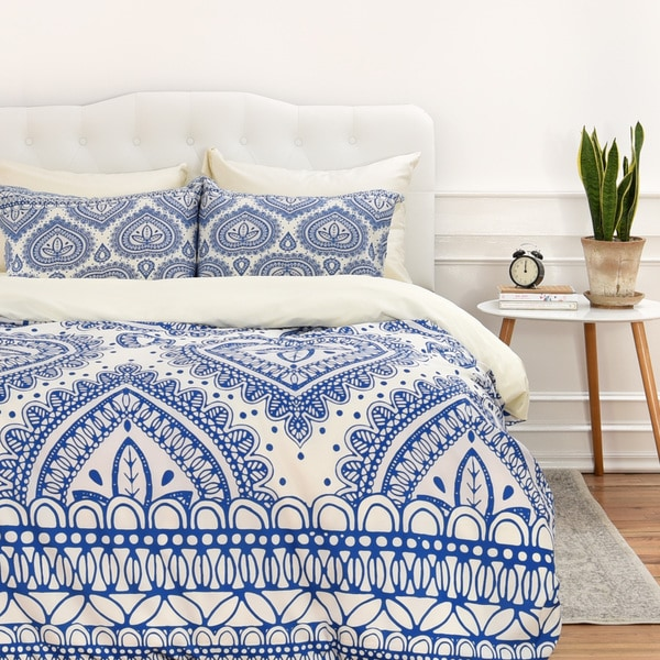 Aimee St Hill Decorative Blue Duvet Cover