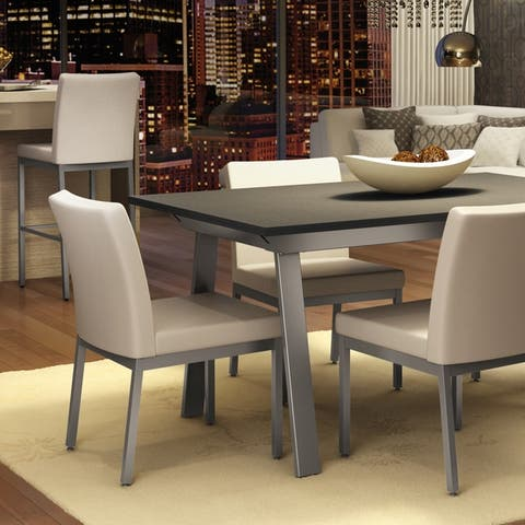 Amisco Drift Extendable Table and Perry Chairs Dining Set