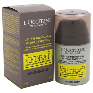 L'Occitane Men's 1.6-ounce Cedrat Global Face Gel