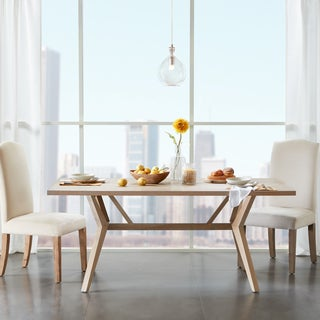 Madison Park Stuart Light Natural Dining Table
