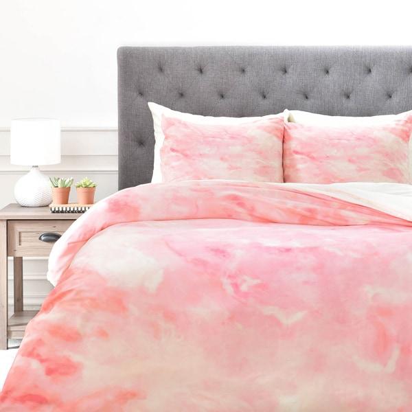 Rosie Brown Art Deco Pink 1 Piece Duvet Cover