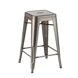 Industrial Metal CAFE Stool