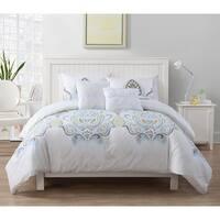 VCNY Shazia Reversible 5-piece Comforter Set